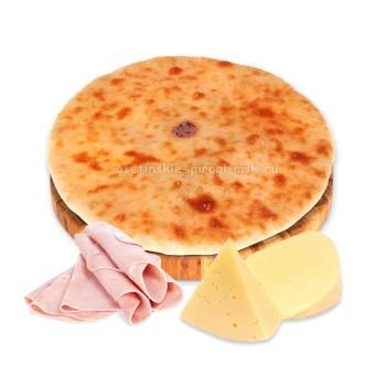 Осетинские пироги с сыром и ветчиной