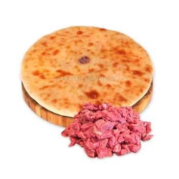 Осетинский пирог с рубленым мясом