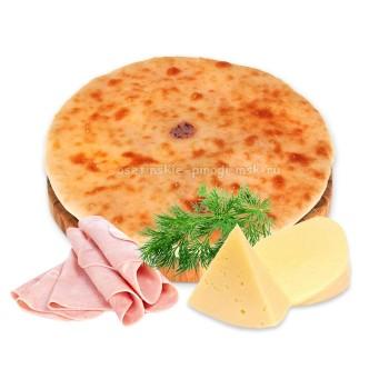 Осетинские пироги с сыром, ветчиной и укропом