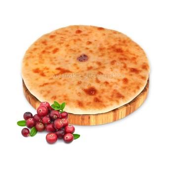Осетинский пирог с клюквой