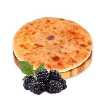 Осетинский пирог с ежевикой