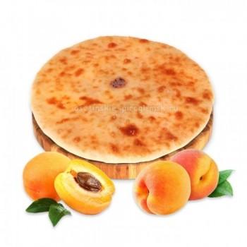 Осетинский пирог с абрикосом и персиком
