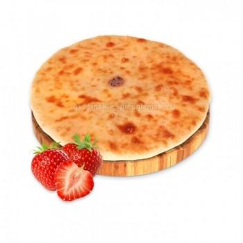 Осетинский пирог с клубникой
