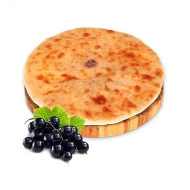 Осетинский пирог с смородиной