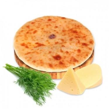 Осетинский пирог с сыром и укропом